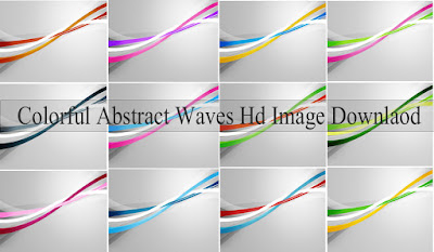 Colorful Abstract Waves