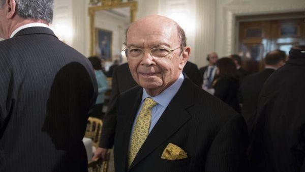 El multimillonario Wilbur Ross es el secretario de Comercio de Trump