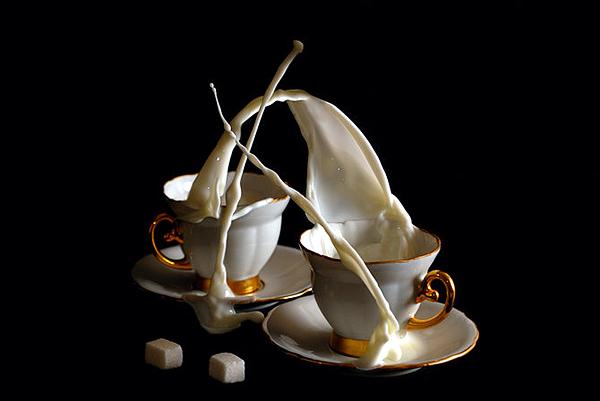 Increíbles fotografías a la hora del café.