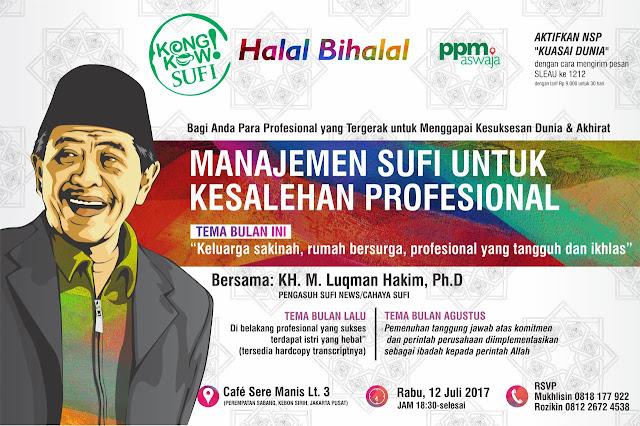 Kongkow Sufi: Manajemen Sufi Untuk Kesalehan Sosial