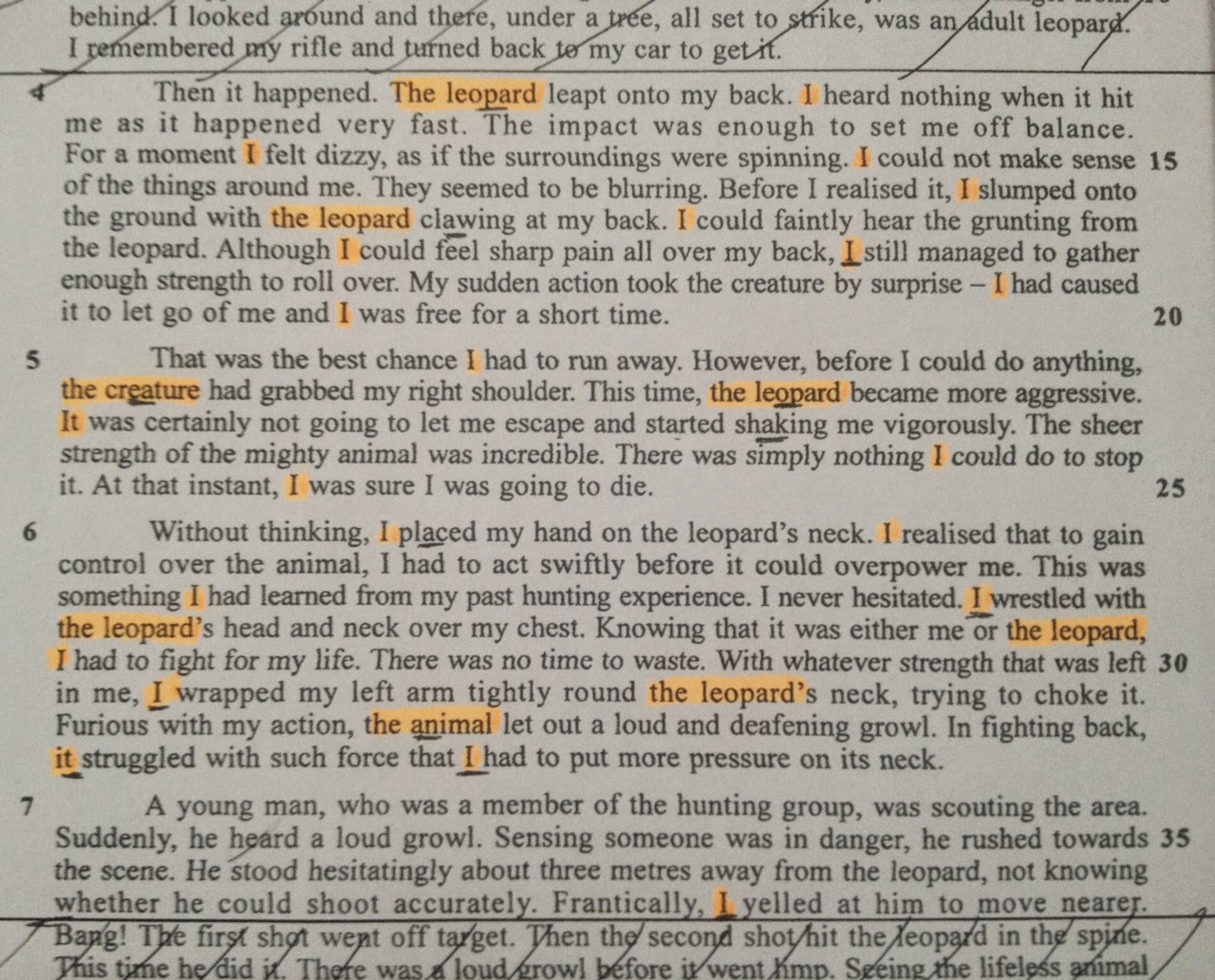 endless english easy spm summary writing steps  story