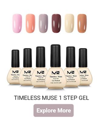 MelodySusie timeless muse 1 step gel polish