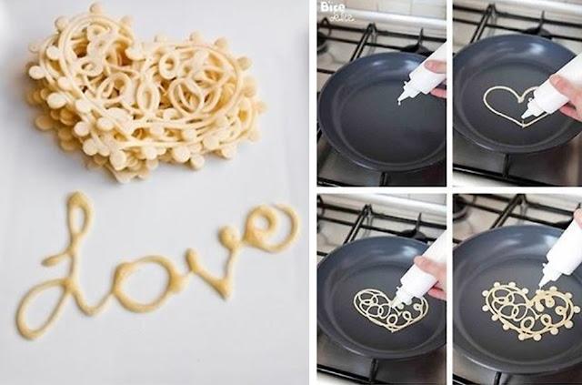 Sevgiliye Güzel Kahvaltı Hazırlama
