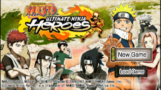 Game Naruto Ultimate Ninja Heroes ISO PPSSPP Download