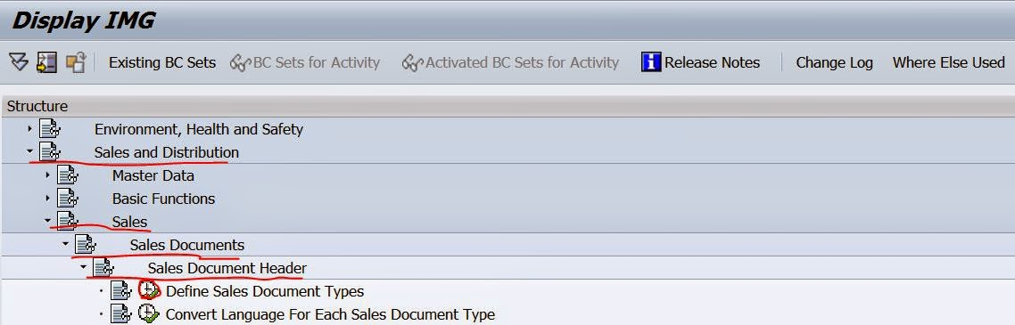TECHSAP : Defining New Sales Document type In SAP SD