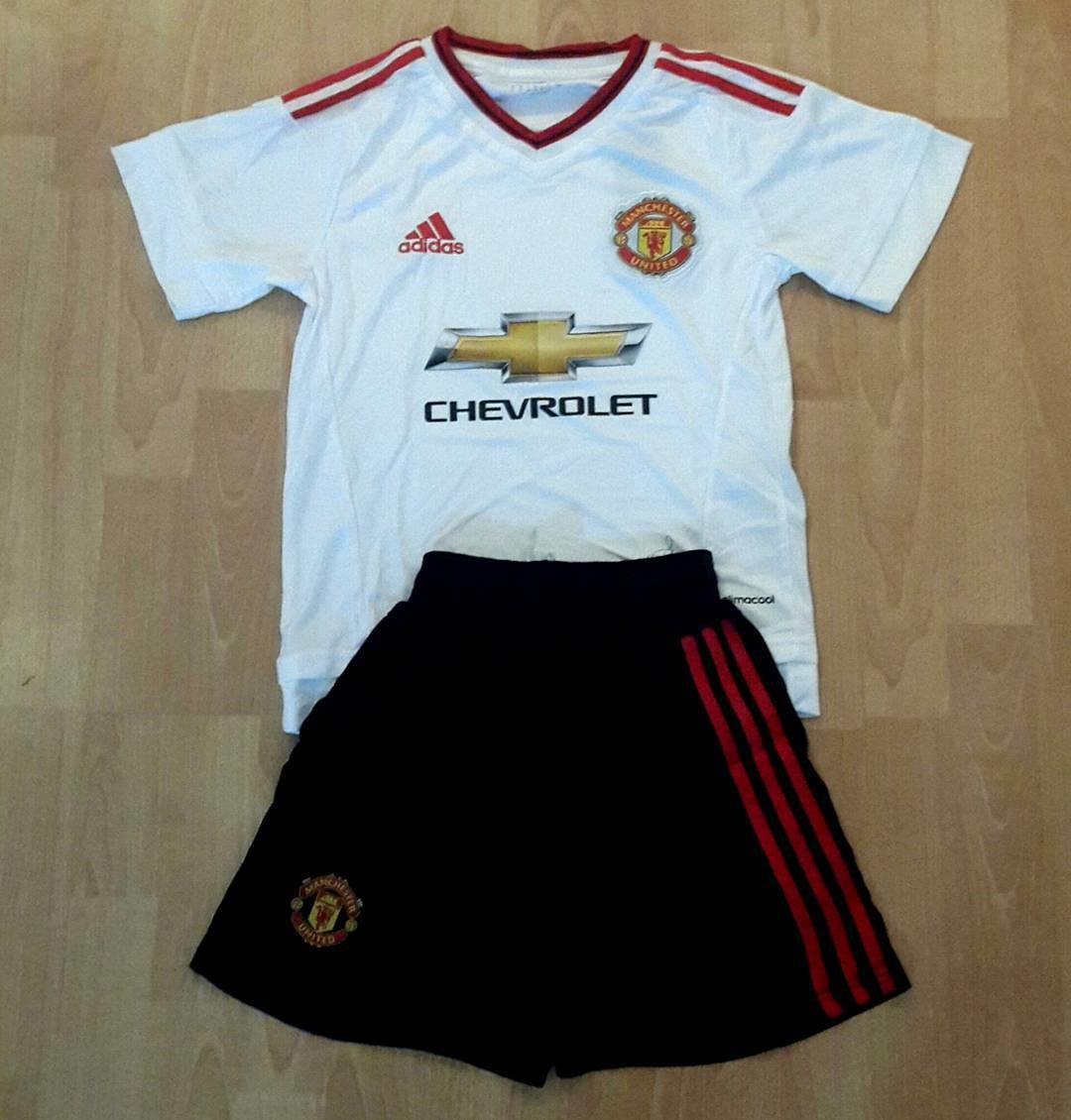 fcb10909d Jual jersey kids Manchester united away terbaru Adidas musim 2015 ...