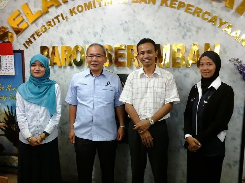 Program intervensi dan motivasi Parol N Sembilan, Jabatan Penjara Malaysia - Pengkajian Sosial Universiti Sains Islam Malaysia (USIM)