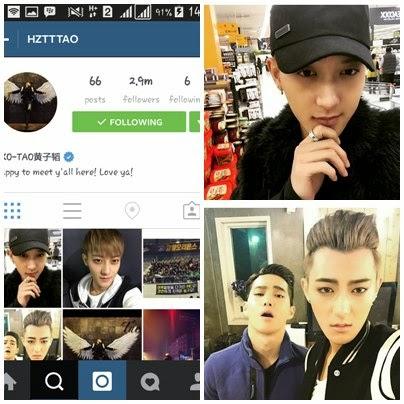 foto instagram tao exo