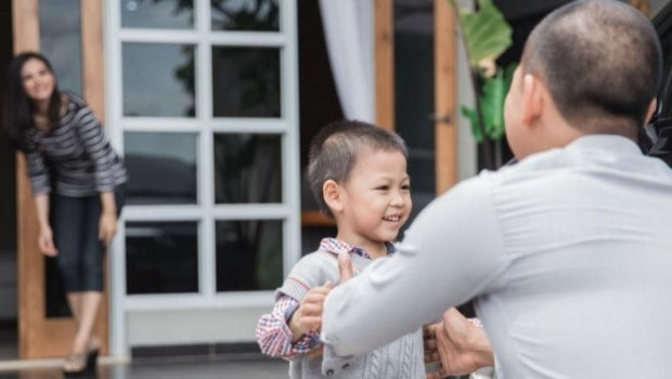 contoh surat pernyataan hak asuh anak dari suami kepada istri