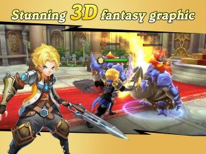 Final Clash 3D FANTASY MMORPG MOD APK