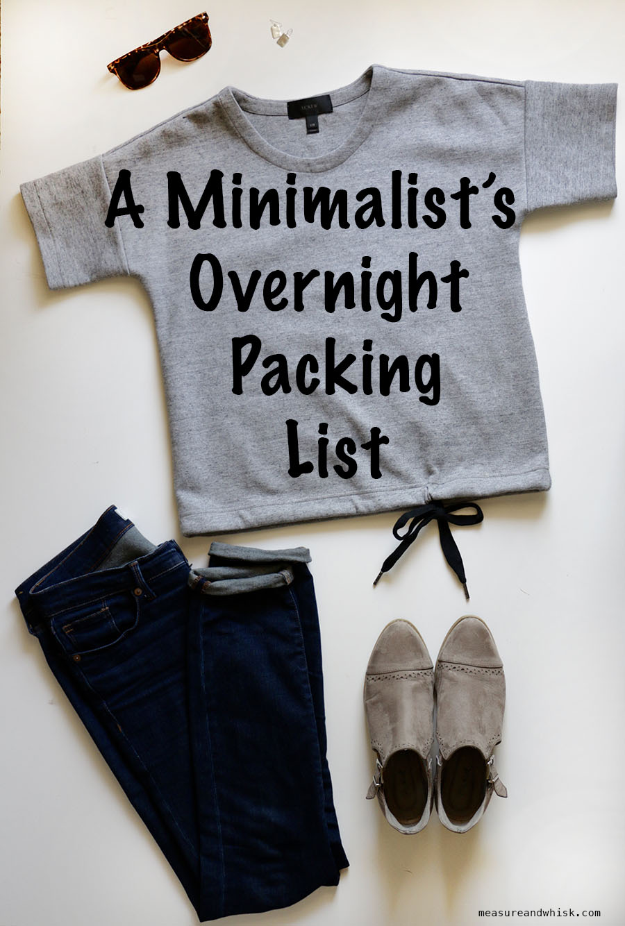 Minimalist 39 s overnight trip packing list overnight for Minimalist living checklist