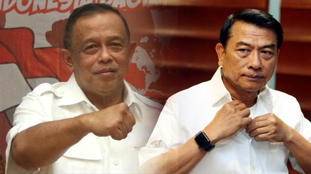 Menakar Dua Eks Panglima TNI di Pasukan Tempur Jokowi dan Prabowo