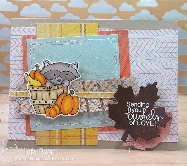 Newton's Nook Designs STAMPtember Bushels of Love Set - Naki Rager