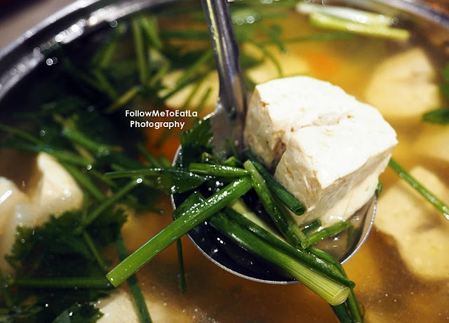 Tofu Soup With Minced Chicken