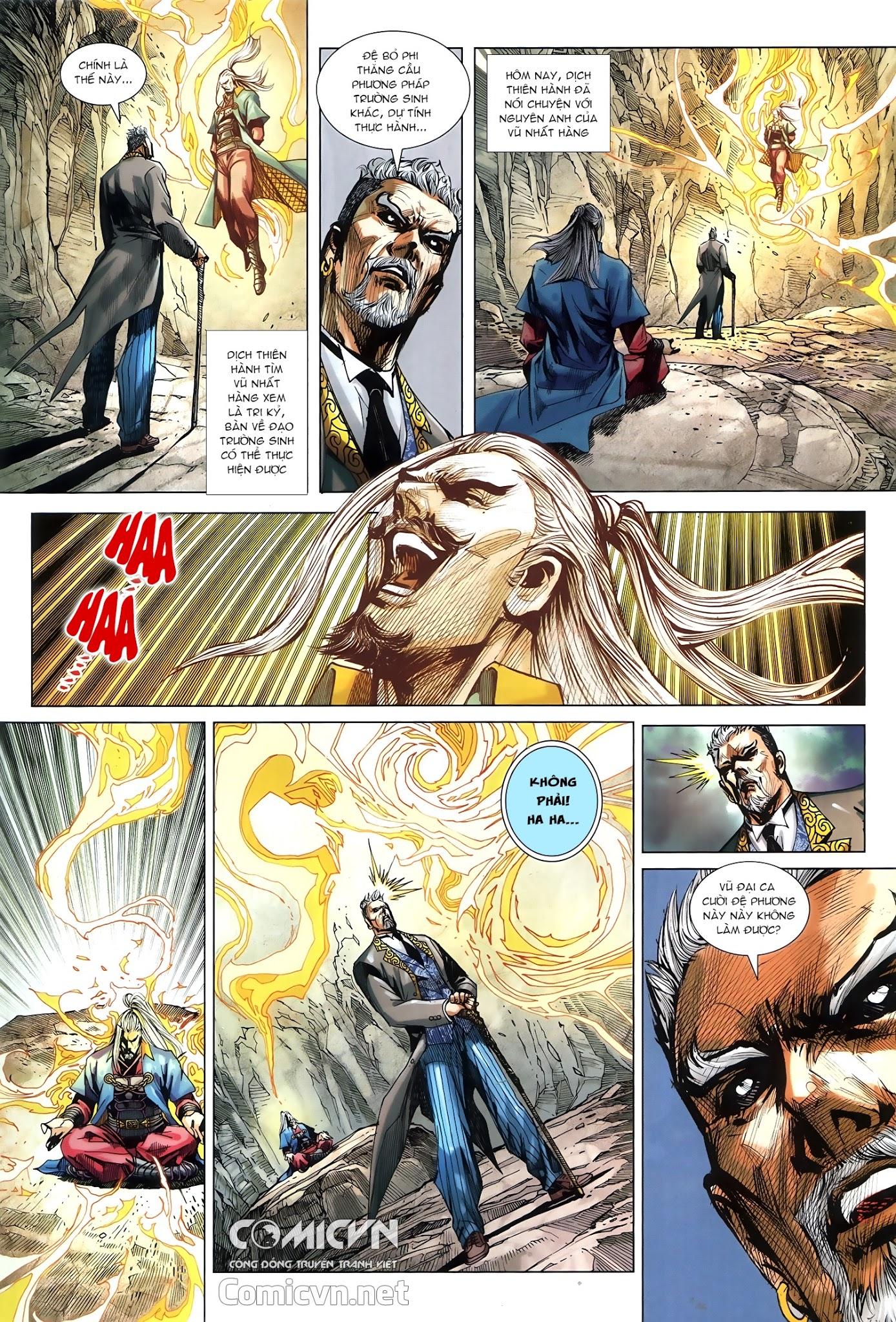 Tân Tác Long Hổ Môn chap 879.1 - Trang 16