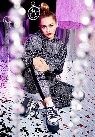 Converse x Miley Cyrus Bershka colección moda y zapatillas