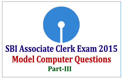 SBI Associate Clerk Exam