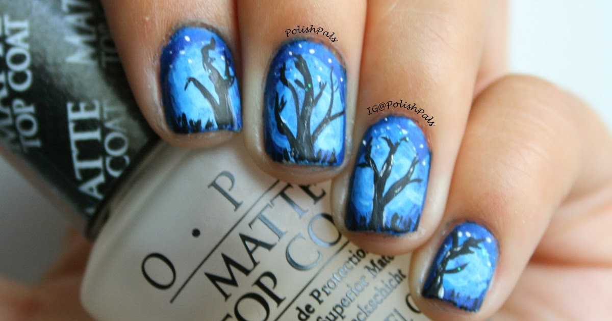 Light Blue Acrylic Nails Simple
