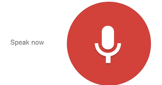 ... : Practise basic forms in voice search with 1.4 million words or less