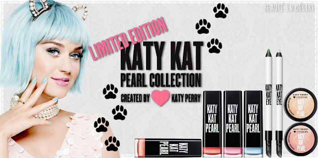 Vignette de l'article sur la collection Katy Kat Pearl signé Katy Perry pas Covergirl. - Beauté en délire