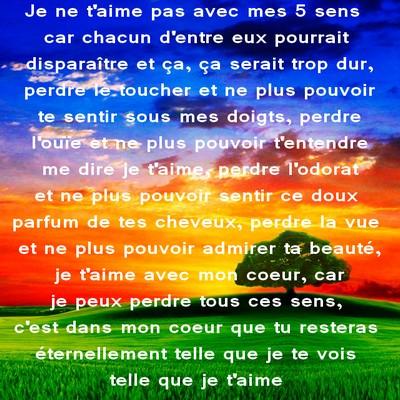 Texte D Amour Pour Dire Je T Aime Poèmes Et Textes Damour