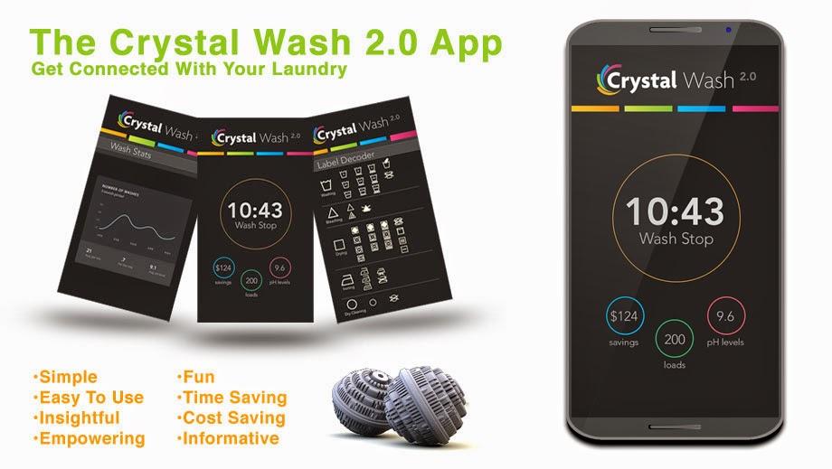 Eccentric Eclectic Woman: Crystal Wash Review