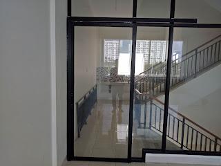 pintu kaca aluminium sliding atau geser