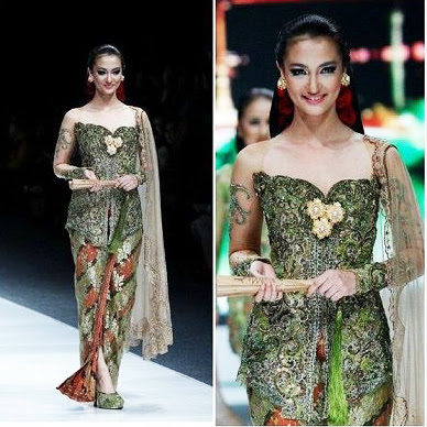 batik kebaya modern terbaru