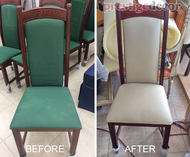 Choose a Chair You Would Like To Reupholster