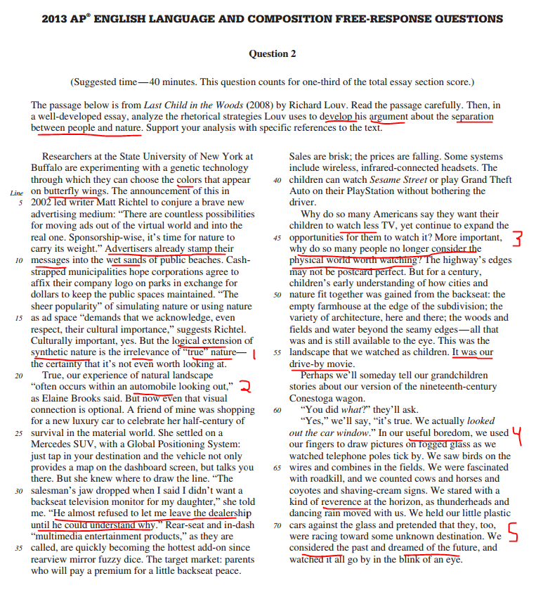 5 steps to a 5 ap english language analysis essay Advice for ap english literature and composition teachers   in ap courses— a broad pipeline that prepares students step-by-step for the rigors  students  who receive ap exam grades of 3, 4, or 5, and bypass introductory courses,  perform in  each with a combination of quotation identifications and essay  questions.