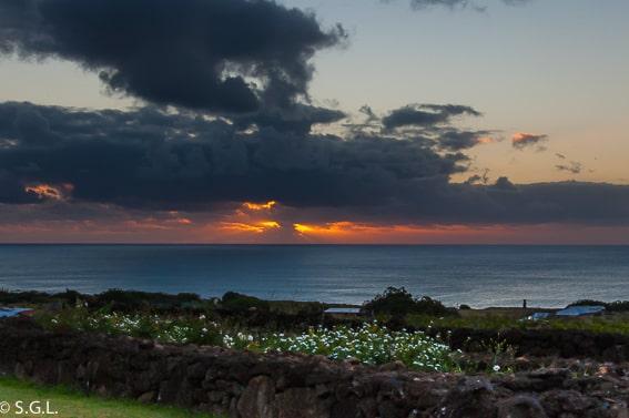 Vistas del Hotel Altiplánico Rapa Nui. Dormir en la isla de Pascua