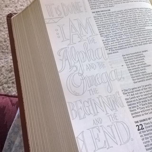 HCSB Illustrator's Notetaking Bible from B&H Publishers