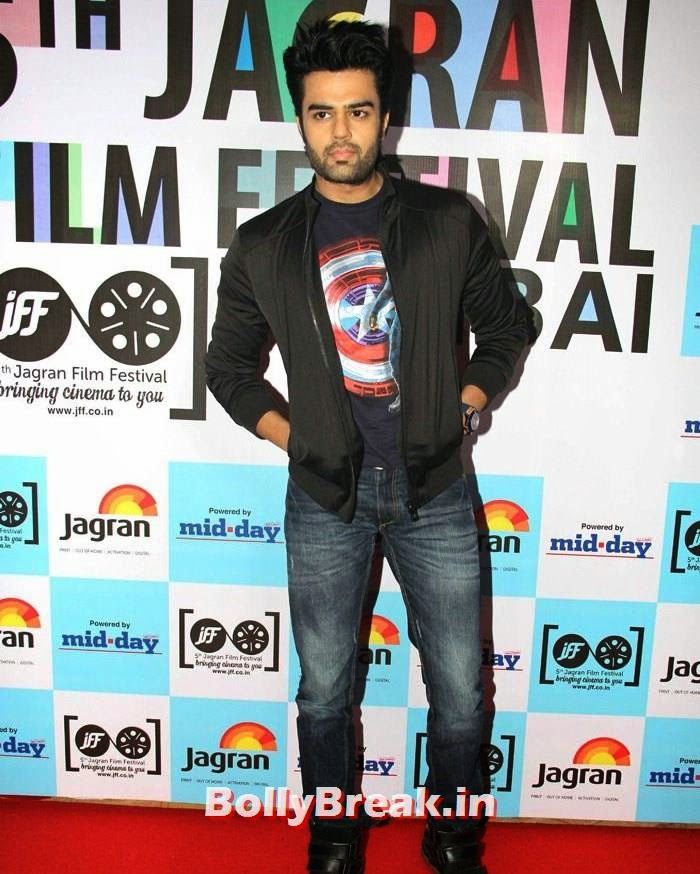 Manish Paul, 5th Jagran Film Festival Red Carpet Pics