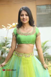 Actress Nikitha Bisht Stills in Lehenga Choli at Pochampally Ikat Art Mela Launch  0256.JPG