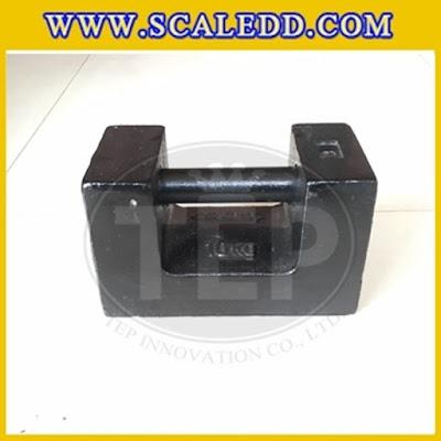 ตุ้มน้ำหนักเหล็กหล่อมาตรฐาน10กิโลกรัม (ตุ้มจีน) ตุ้มน้ำหนักสำหรับสอบเทียบเครื่องชั่งน้ำหนักดิจิตอล