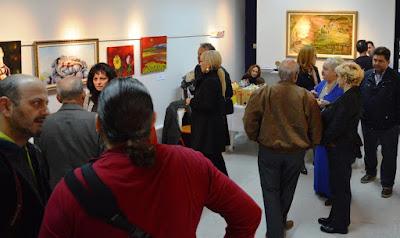 ΔΕΛΤΙΟ ΤΥΠΟΥ - Εικαστική έκθεση του Γιάννη Πίτσιου στην αίθουσα του Συλλόγου Εικαστικών Καλλιτεχνών, στην Κατερίνη