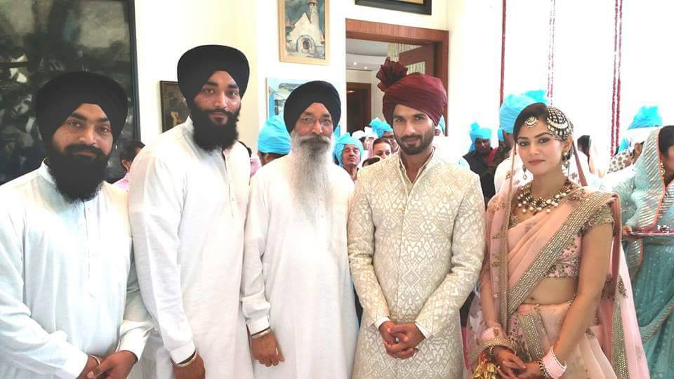Latest Pictures Of Shahid Kapoor Marriage