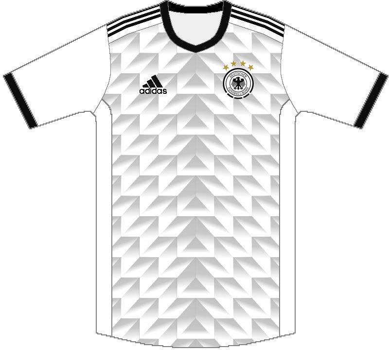 Nova camisa da Alemanha deve ser inspirada na Copa de 1990 ... fc18eb83933c5