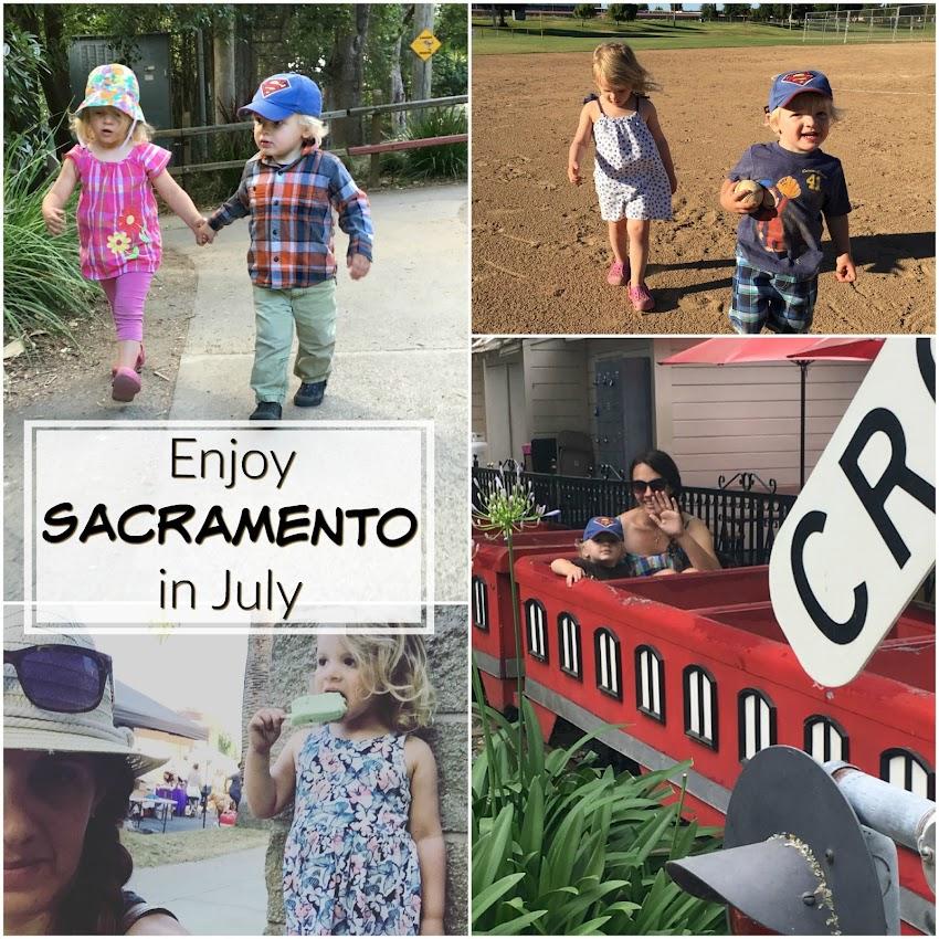 July in Sacramento