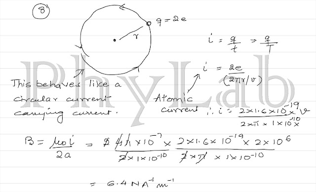PhyLab-Educate: Solution to Magnetic Effect of Current-pg1