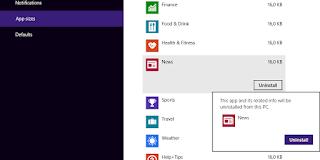 Cara Menghapus Aplikasi Metro Bawaan Windows 8/8.1