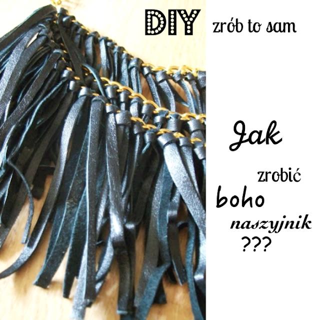 DIY - Jak zrobić naszyjnik z frędzlami. Zrób to sam.