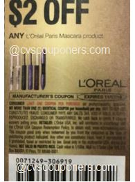 L'Oreal  coupon insert coupon