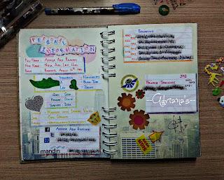 Present For Myself DIY Scrapbook Hadiah Untuk Diri Sendiri