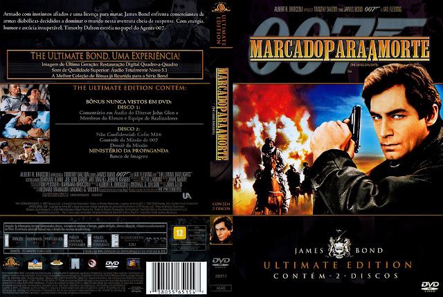 Capa DVD 007 Marcado para a Morte