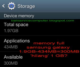 masalah setelah update firmware samsung