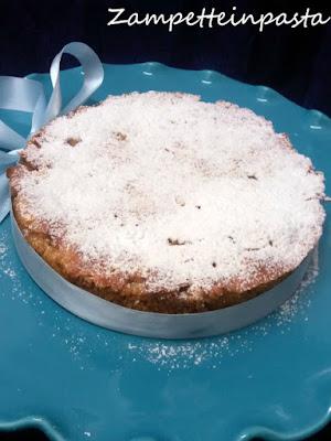 Torta di panettone (o pandoro) con le mele - Dolce con il panettone