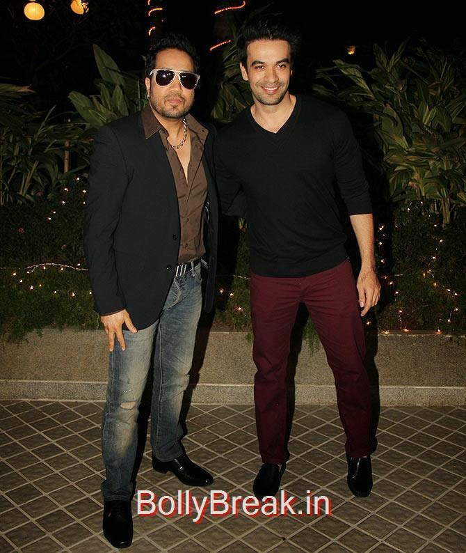 Mika and Punit Malhtotra, Bollywood Celebrities At Farah Khan's GRAND 50th Birthday Party