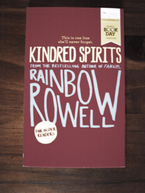 Rainbow Rowell Kindred spirits