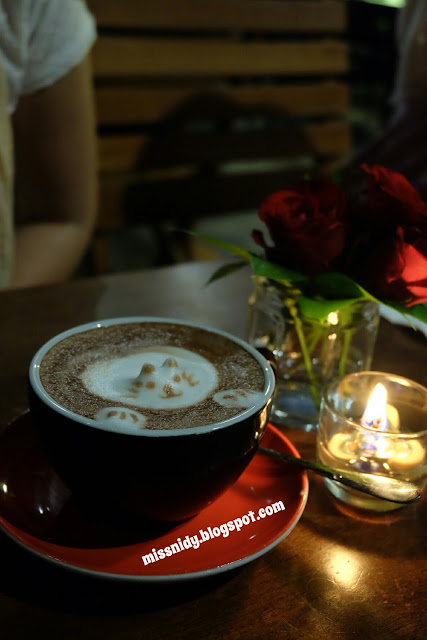 3D art latte at noah's barn bandung